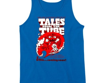 Vintage Surf Film T-shirt Tales From The Tube