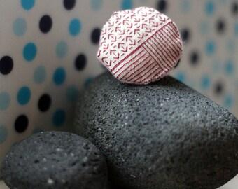 Etno patterned hair tie
