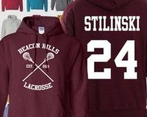 Stiles Stilinski hooded sweatshirt, Teen Wolf Hoodie Dylan Obrien Apparel, hoodied sweatshirt, sm-5xl Also Available Dunbar, McCall