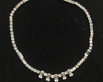 Beautiful Kramer Rhinestone necklace