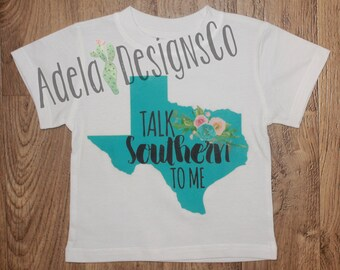 Talk southern to me etsy for Talk texan to me shirt