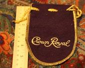 Mini Crown Royal bags