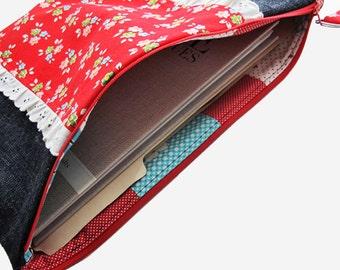 Extra Large Zipper Pouch | Zip Top Storage Bag for File Folder Storage Portfolio Case Books Magazine Paper Work