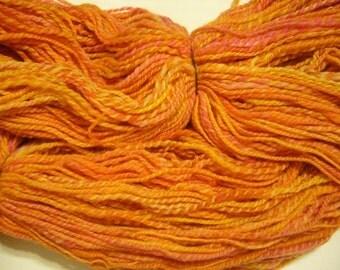 Handspun Yarn - Merino wool yarn, DK weight,   - 343 yards