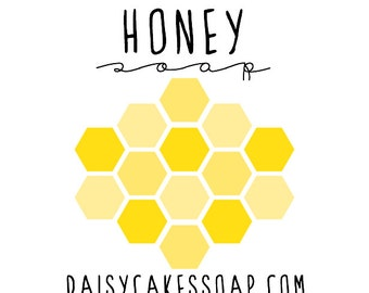 Honey Soap with Olive Oil and Lanolin