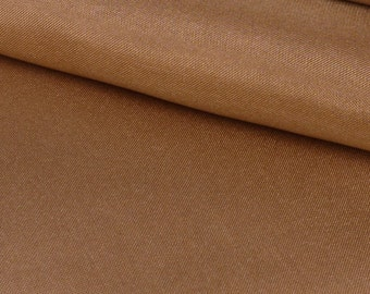 "Gold 100% Silk Crepe de Chine - 45"" Wide - 1 Yard (FABSCDC-GO)"