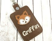 Custom diaperbag tag-  Personalized diaper bag tags - luggage tag - backpack dangle - clip on tags - add a name