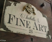 BUSINESS SIGN, Architectural Features, Distressed