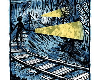 Trackers - Mini Art Print