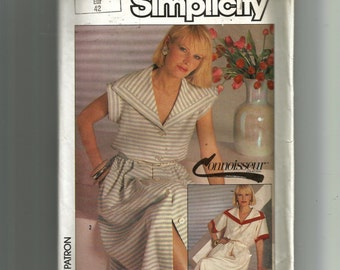 Simplicity Misses' Pullover Dress Pattern 6830