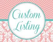 Custom wedding hankie