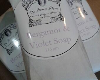 Bergamot & Violet Soap