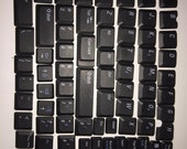 Over 75 Laptop keyboard keys for crafting!