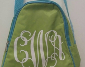 Boutique-Monogrammed-personalized Insulated Lunch Tote Bags