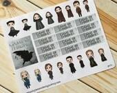 Game of Thrones Sticker Set for Erin Condren (ID474)