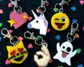 Emoji Love Acrylic Keychains and Charms