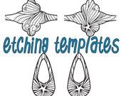 Digital Pattern/ Etching Saddle Style Rings Download