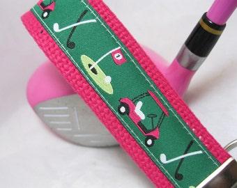 Key Fob Wristlet Chain Key Fob Lady Golf