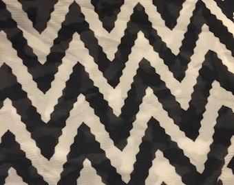Polyester Mesh Fabric 1 yard Chevron