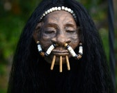 New Shrunken Head, Hand Sculpted, Mere Immortal, One of a Kind