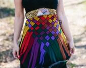 Rubypearl Rainbow RibbonsSlip Dress