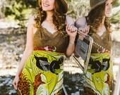 Rubypearl Vintage Safari Slip Dress