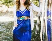 Rubypearl Am I Blue Slip Dress