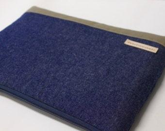 Blue Denim iPad Pro 12.9 or iPad Pro 10.5 Case, iPad Air 2 Cover, iPad mini Sleeve iPad Case