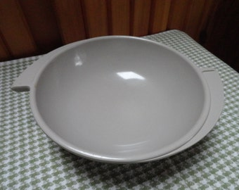 Boonton Melmac Large Gray Serving Bowl