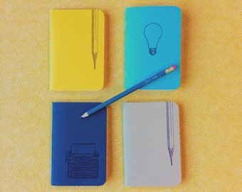 Bright Ideas - Letterpress pocket journals