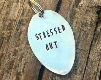 Stressed Out Keychain
