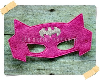 Batgirl Mask Make Believe Pretend Play Creative Play Mask
