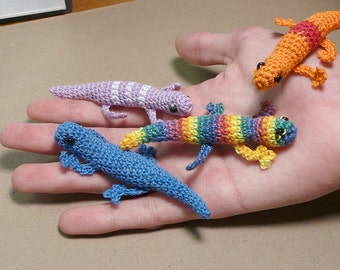 Little Bitty Lizards to Crochet - #031