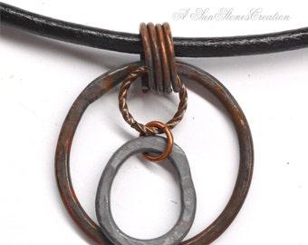 Rustic Men's Pendant Necklace PN2467