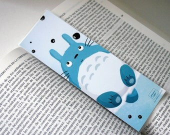 Totoro - illustrated bookmark
