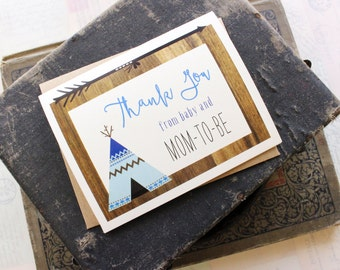 Woodland Baby Shower Thank You Card - Design Fee