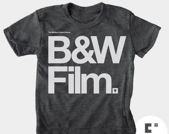 Black & White Film - Boys and Girls Unisex TShirt