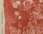 Nani Iro Kokka Japanese Fabric Lei nani - for beautiful corolla linen - brilliant memory - 50cm