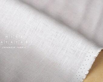 Japanese Fabric 100% linen - light grey -  50cm