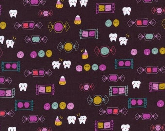 Cotton + Steel Boo! - happy candy - fat quarter