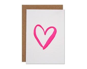 Heart Enclosure Card
