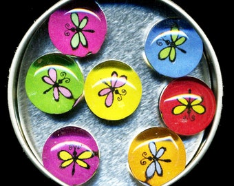 Dragonfly Magnet Set