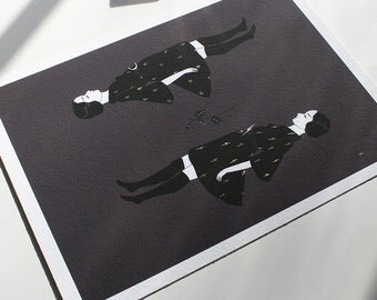 Entremet - archival mini print
