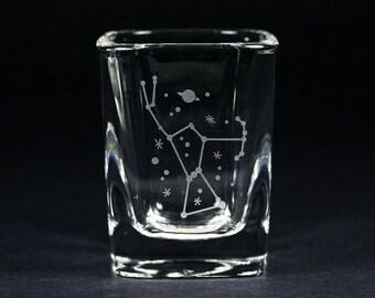 Orion Constellation Shot Glass