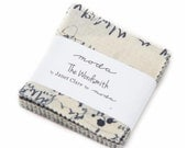 """2.5"""" Mini Charm Squares -  The Wordsmith by Janet Clare for Moda - includes 42 pieces of fabric"""