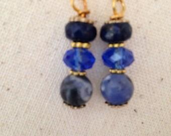 Am I Blue Earrings