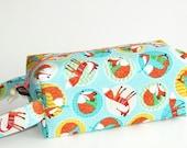 Boxy Bag Knitting Project Bag - Foxy Fashions