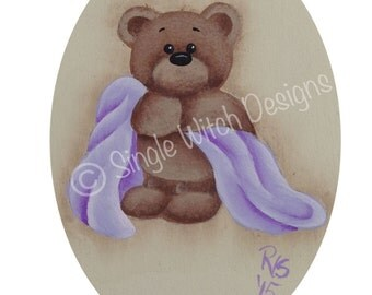 Got My Blankie Ornament - Decorative Painting Pattern ePacket