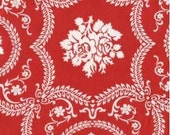 CLEARANCE .75 Yards Jennifer Paganelli Sis Boom Basics fabric in Red