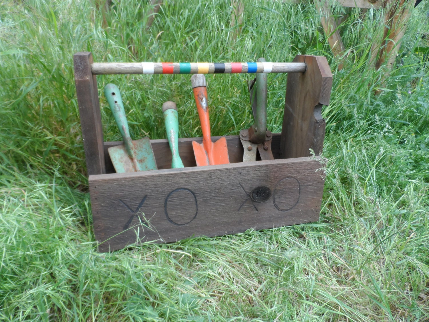 x 39 s and o 39 s garden tote garden tool caddy rustic by